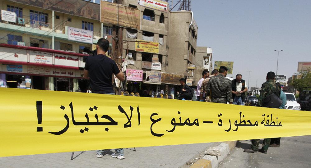 Explosiones en Bagdad (Archivo)