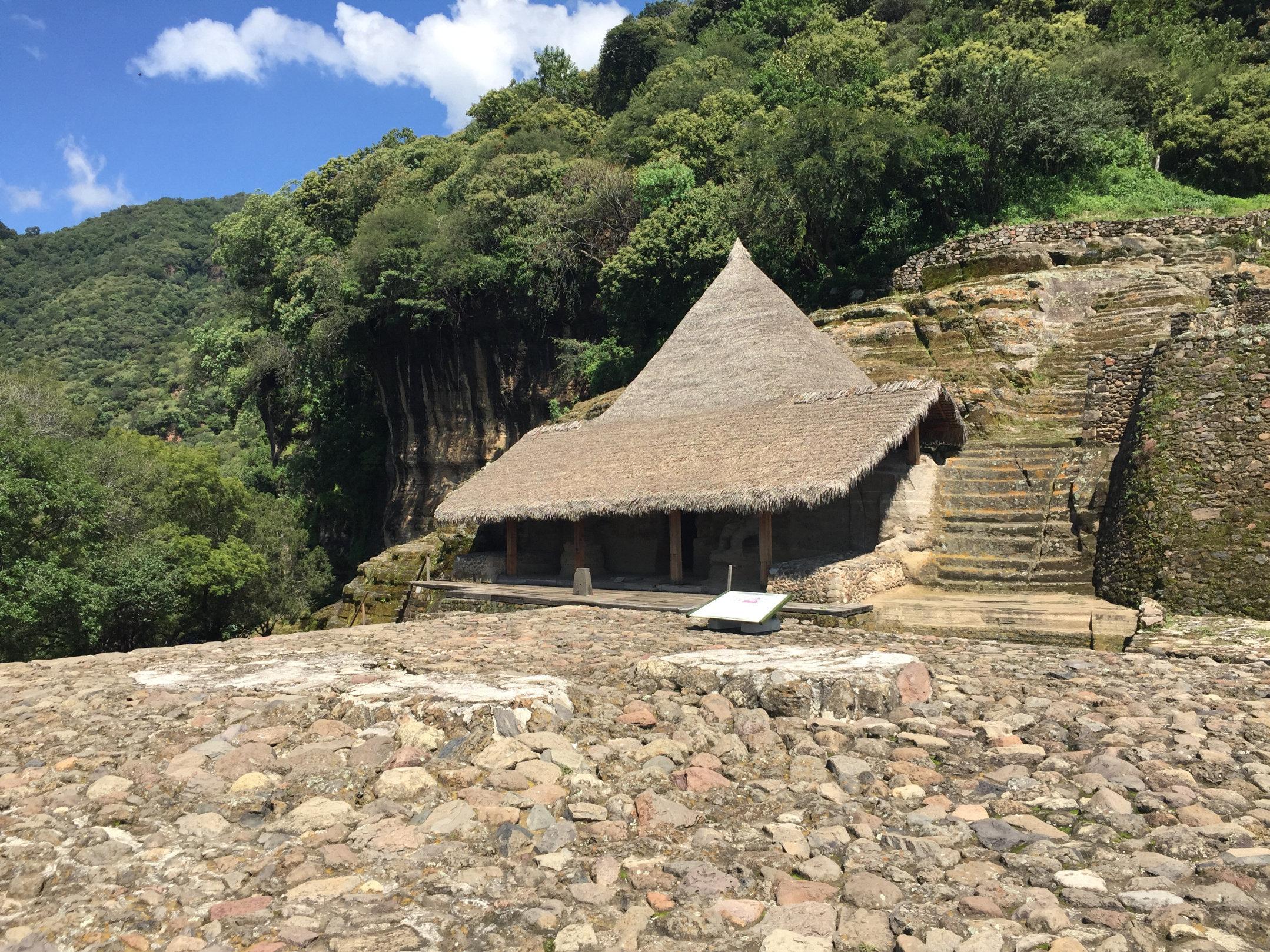 Santuario de los Guerreros Águila en Malinalco, México