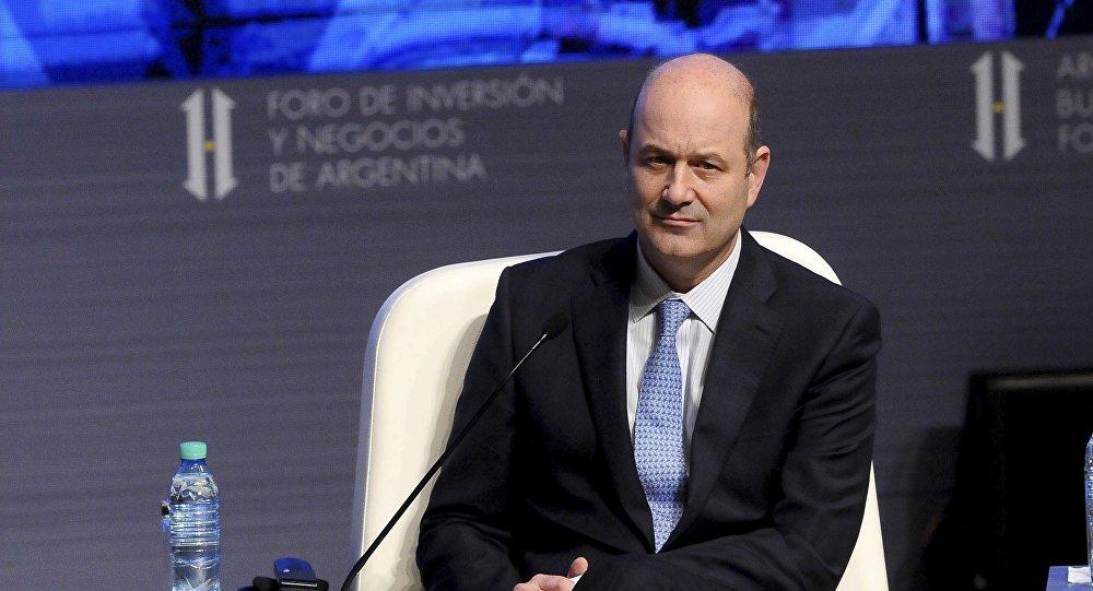 Federico Sturzenegger, expresidente del Banco Central de Argentina (archivo)