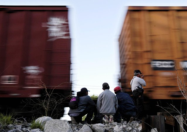 Un tren en Querétaro