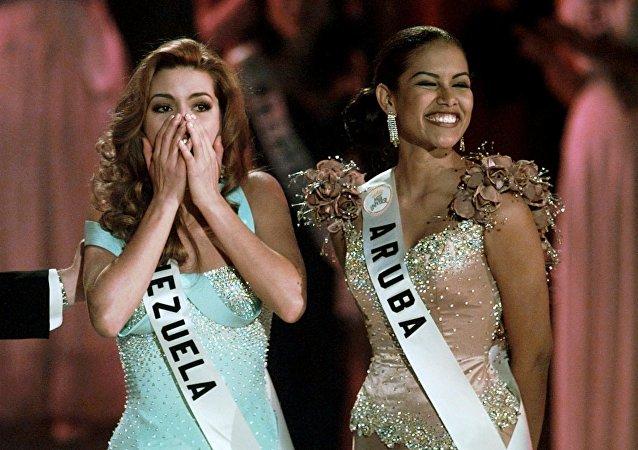 Alicia Machado logra el título Miss Universo