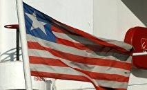 La bandera de Liberia