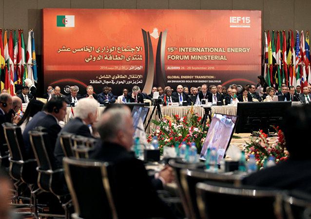 La reunión de la OPEP en Argel
