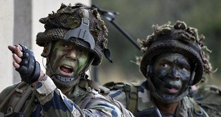 Soldados franceses
