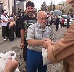 Nueva entrega de ayuda humanitaria rusa en Alepo