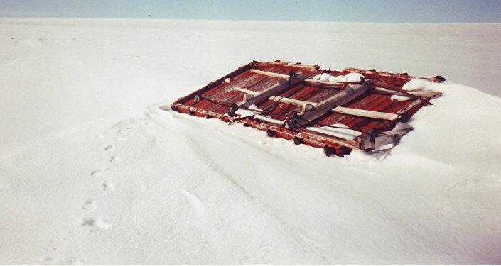 Los restos de la base militar secreta Camp Century
