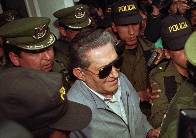 Luis García Meza, el último dictador militar de Bolivia (archivo)