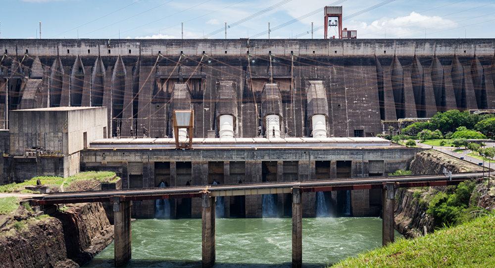 Una hidroelétrica (archivo)