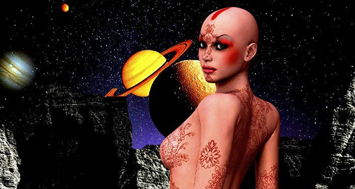 Una extraterrestre