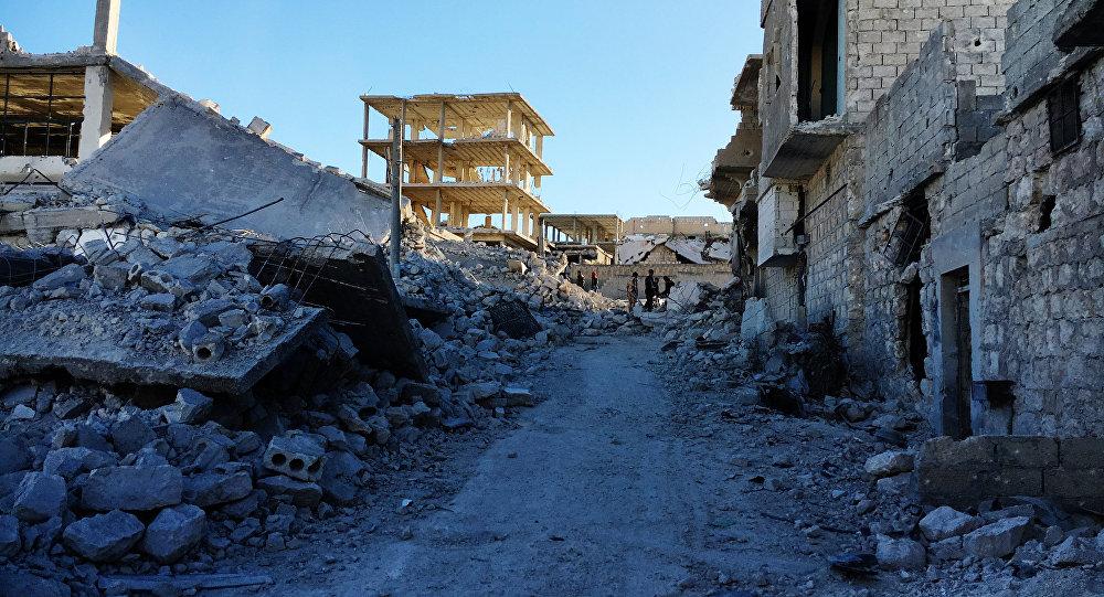 La situación en la ciudad de Alepo