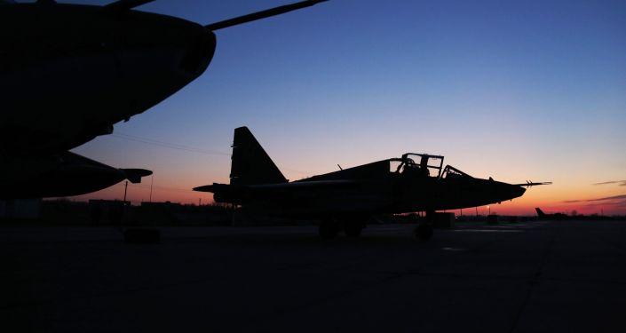 Cazas Su-25 rusos
