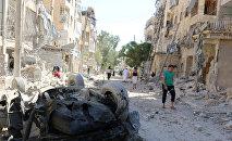 Ciudad de Alepo en Siria