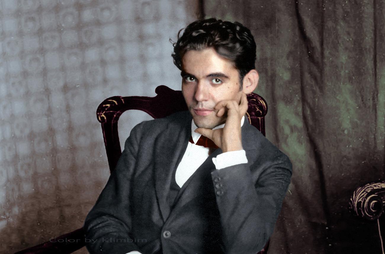 Federico García Lorca, famoso poeta y escritor español