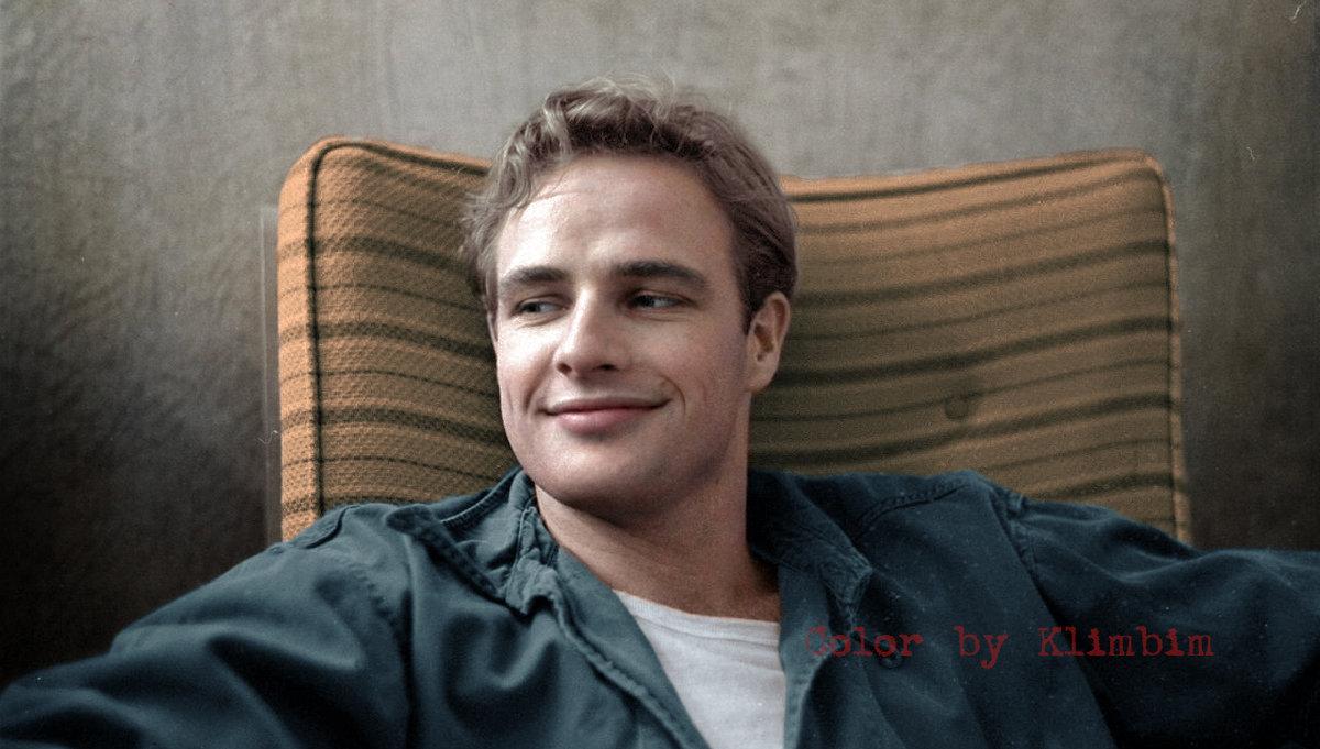 El estadounidense Marlon Brando, actor de cine y teatro