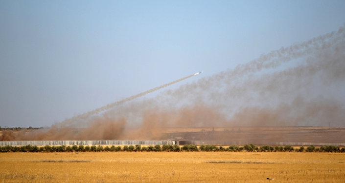 El ataque del ejército turco contra Daesh (archivo)