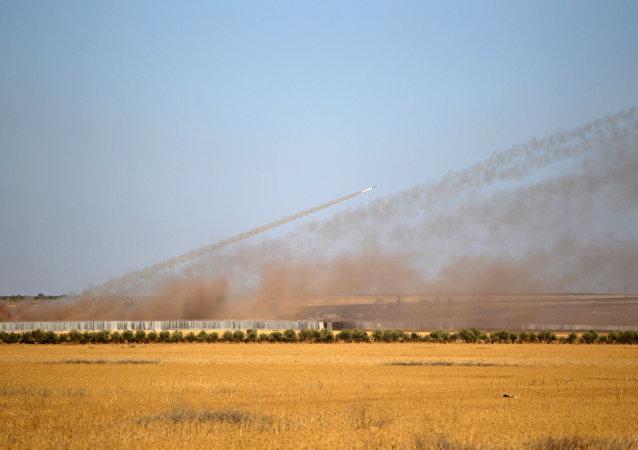 El ataque del ejército turco contra Daesh