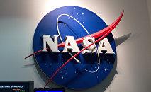 El logo de NASA