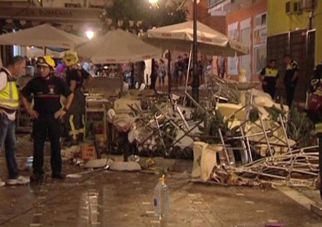 Explosión en Velez-Malaga