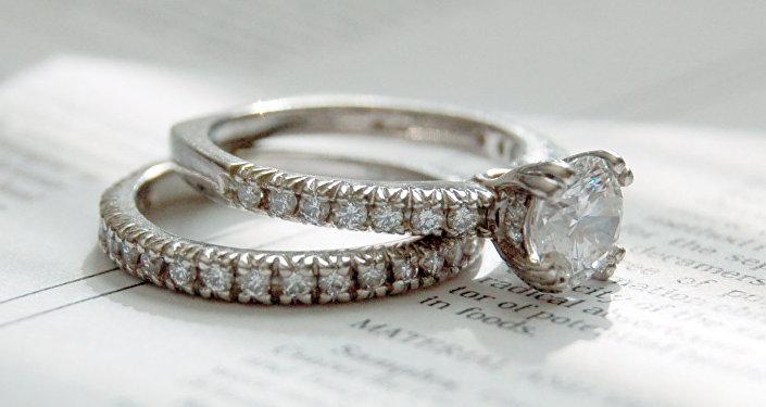 Los anillos de boda (archivo)
