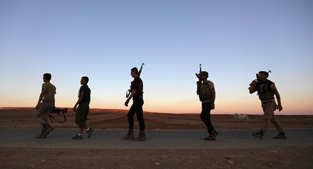 Los rebeldes en Siria