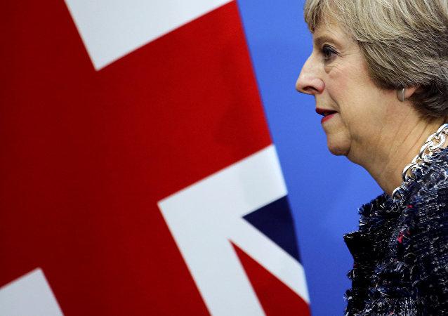 Theresa May, la primera ministra de Reino Unido