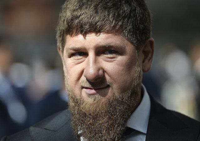 Ramzán Kadírov, el líder de la república rusa de Chechenia (archivo)