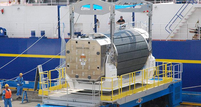 El combustible nuclear MOX, una mezcla de plutonio et uranio (archivo)