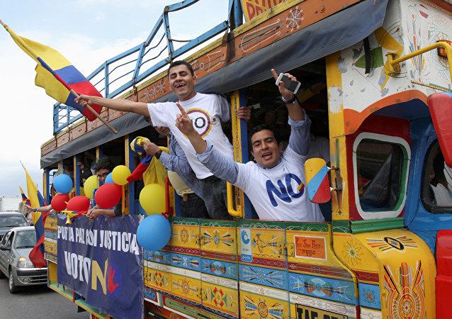 Promotores del No cuestionan a Santos por decir que el plebiscito se ganó con mentiras