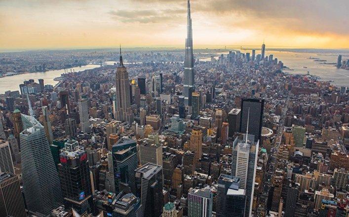 Burj Khalifa en Nueva York