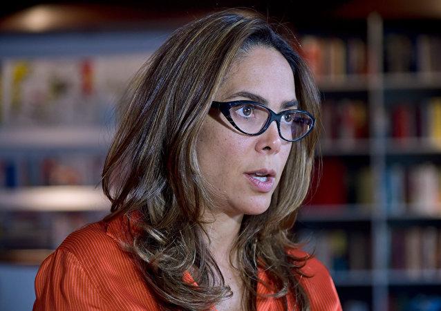 Gina Parody, la exministra de Educación de Colombia