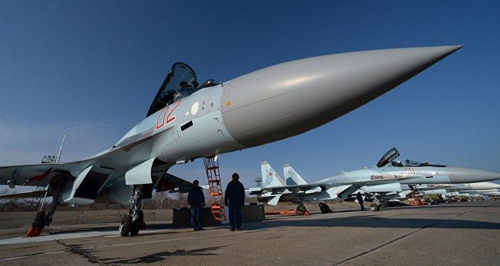 La caza rusa Su-35