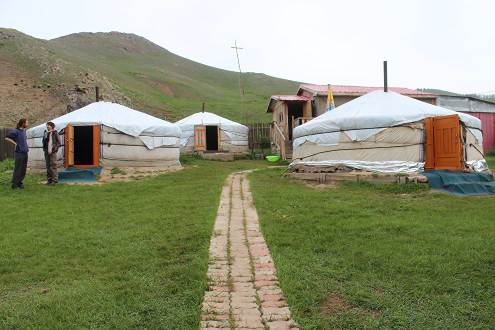 Las 'yurtas', viviendas típicas de Mongolia