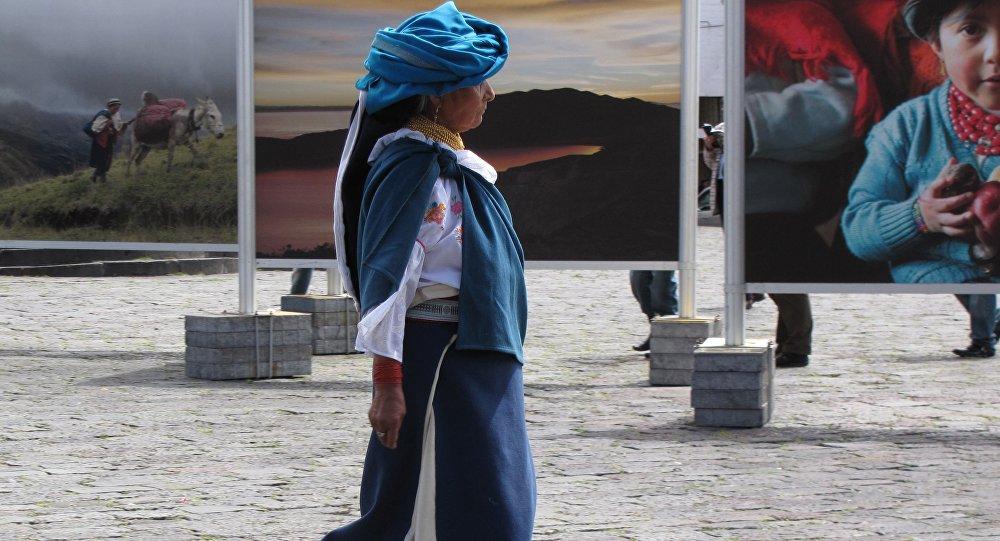 Una mujer, América Latina