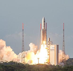 Lanzamiento del cohete Ariane-5