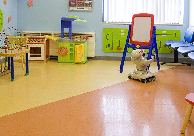Un hospital de niños (archivo)