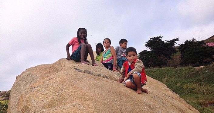 Niños en Chile