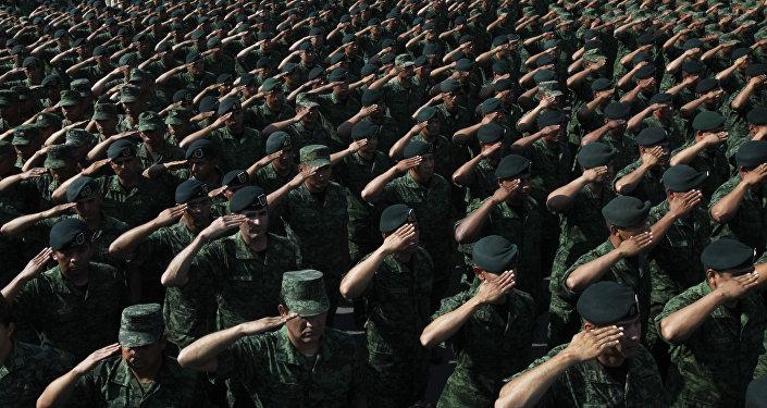 Los soldados mexicanos