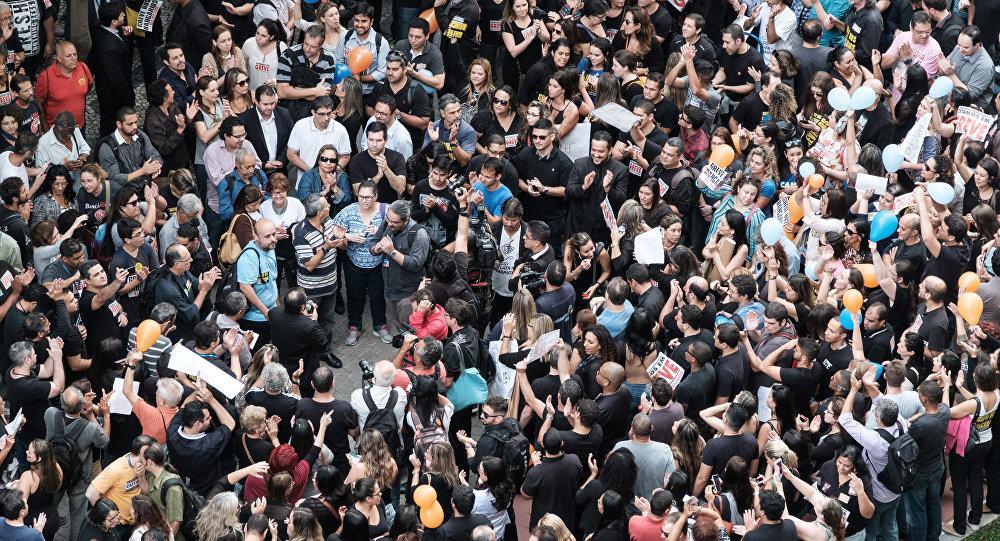 La huelga de los bancos en Brasil