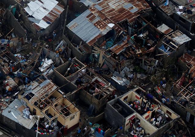 Consecuencias del huracán Matthew en Haití