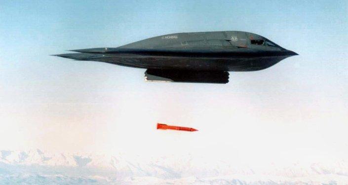 El bombardero B-2 Spirit norteamericano
