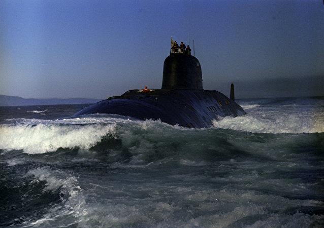 Un submarino nuclear (archivo)
