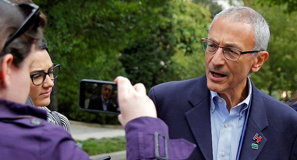 John Podesta, responsable de la campaña electoral de Hillary Clinton