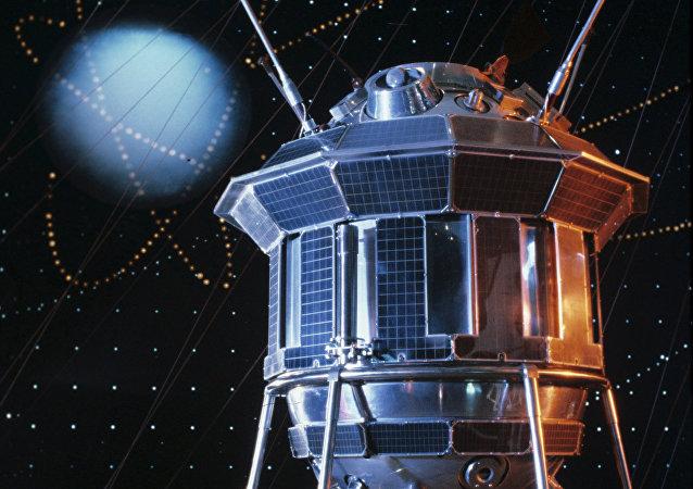El modulo espacial Luna-3