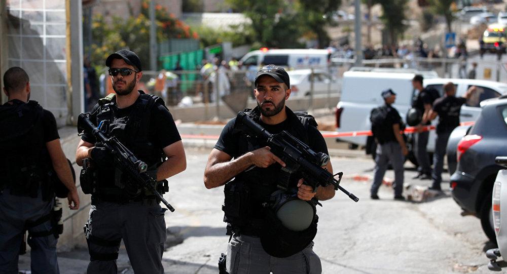 La policía de Jerusalén (archivo)