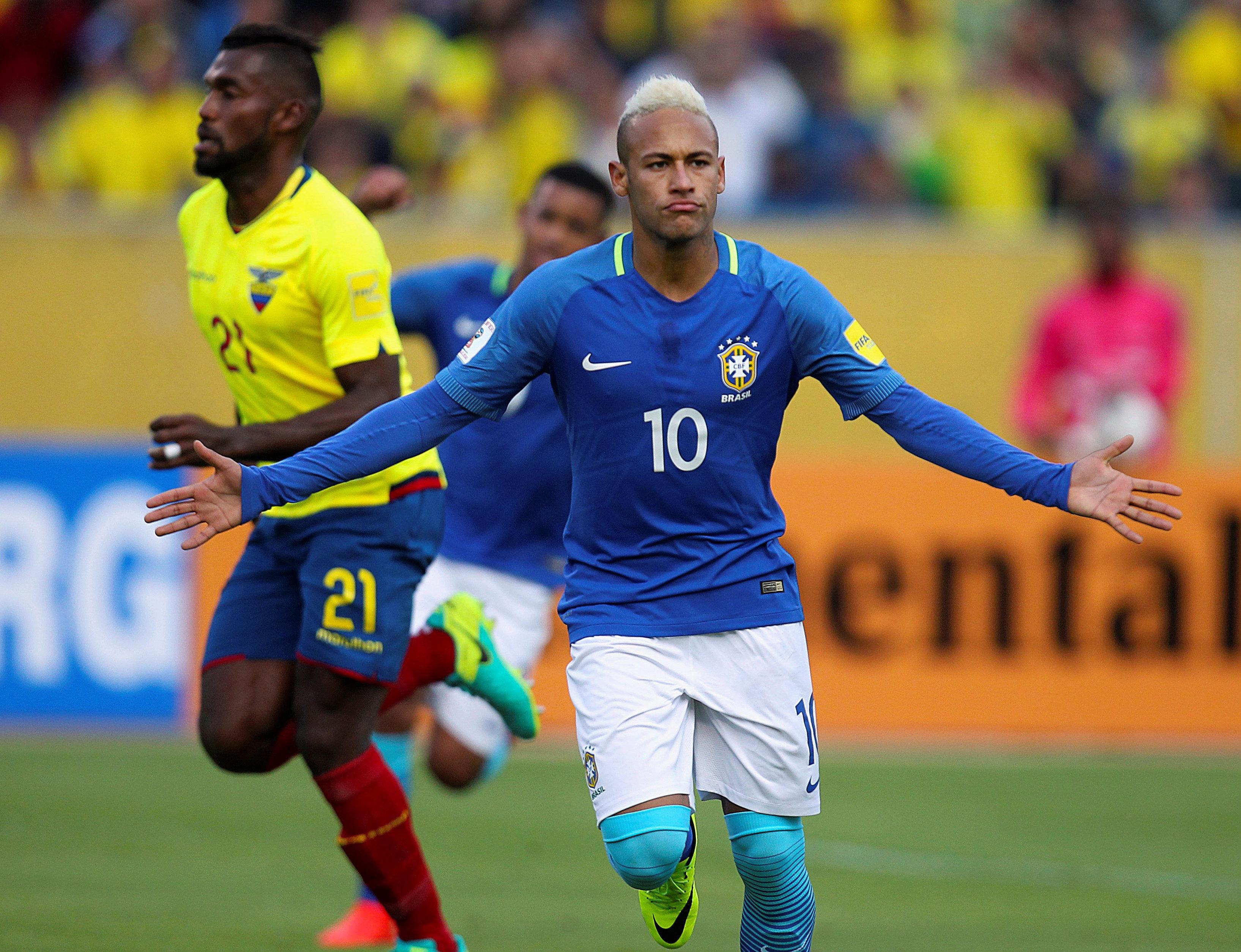 Neymar Jr,  el futbolista de Brasil