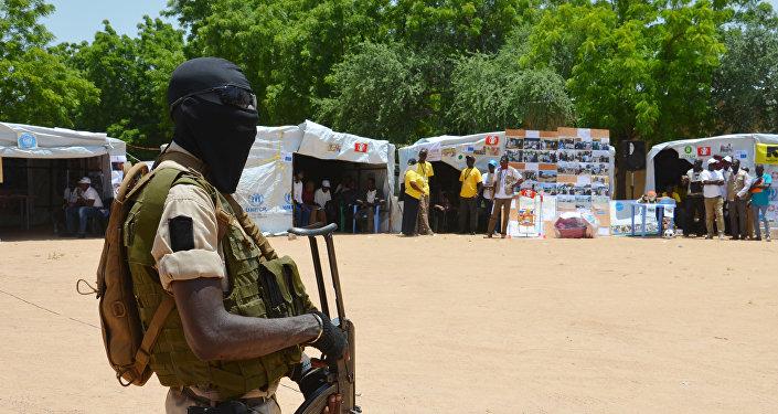 Un soldado de Níger