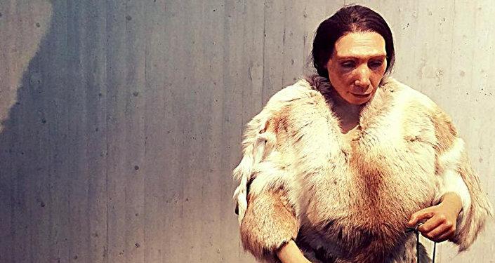 Una mujer neandertal