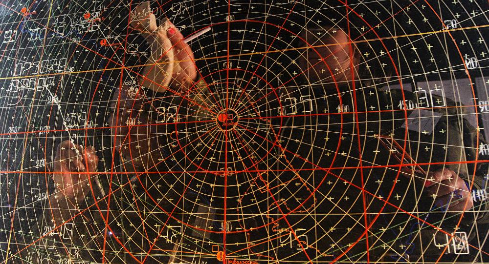 Radar de un sistema antimisiles (archivo)