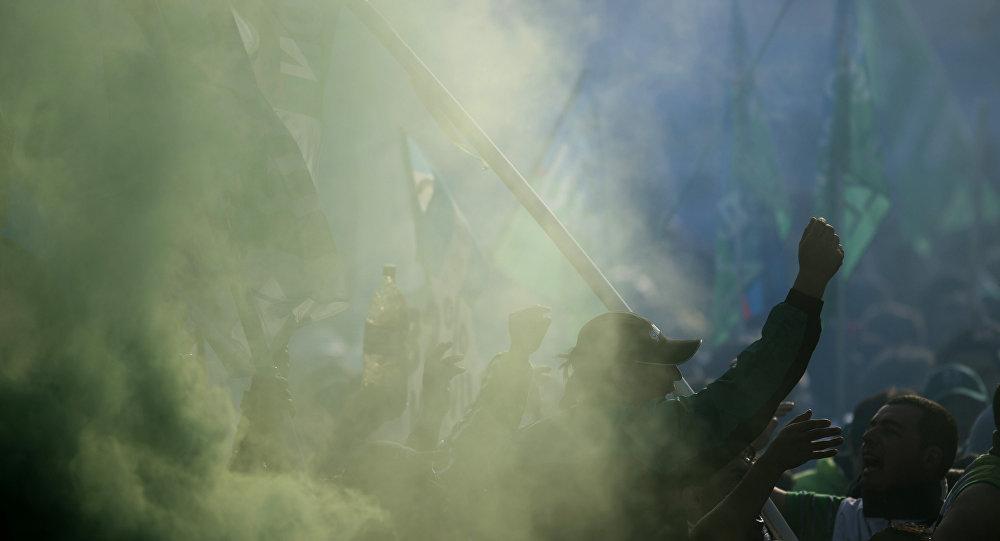 Partidarios de la Confederación General de Trabajo de Argentina