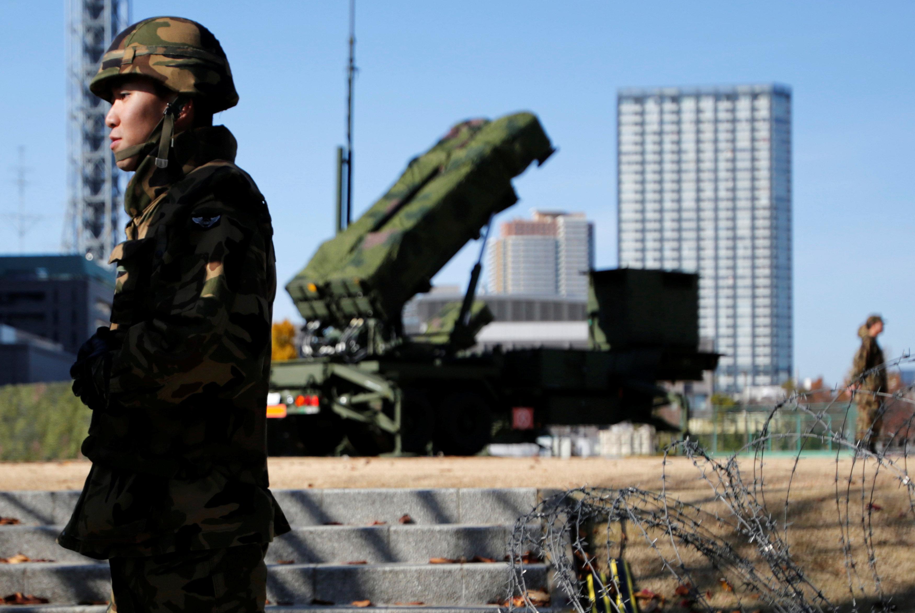 Unidades antimisiles de Japón